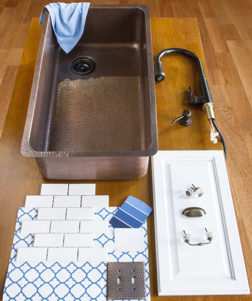david undermount copper sink with kitchen design elements