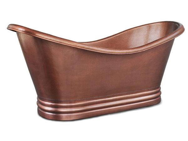 euclid copper bathtub