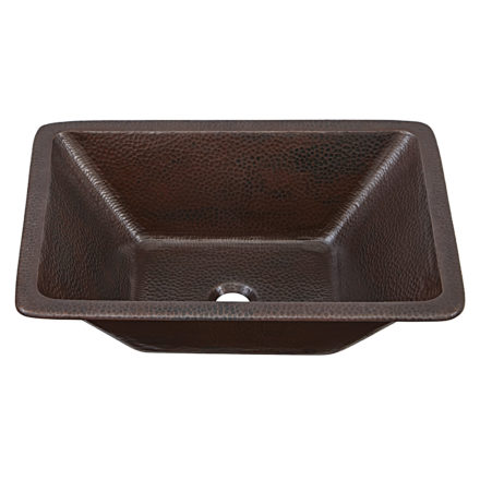 hawking 20 hand hammered copper vessel bathroom sink