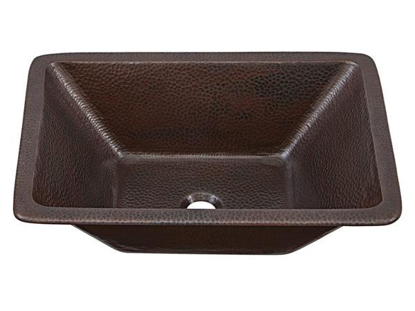 hawking 20 hand hammered copper vessel bathroom sink