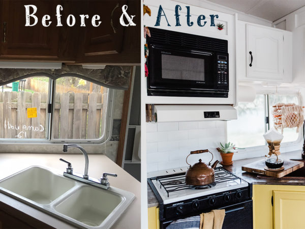 Before & After: Making the Most of 188 sq ft of Tiny Living