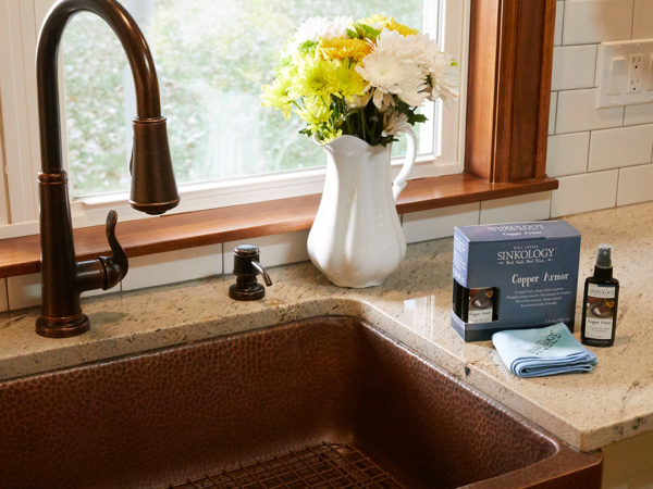Your Guide to Copper Sink Cleaning and Care