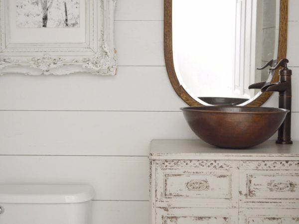 Before & After: Powder Room Renovation with @MyVintagePorch