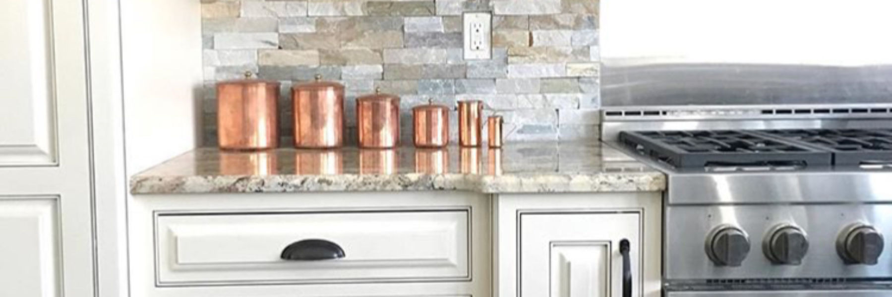 Copper Canisters for Kitchen