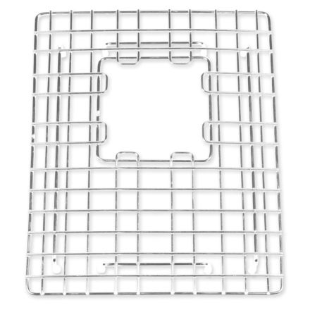stainless steel double bowl sink grid