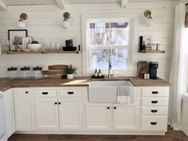 fireclay-kitchen-sink-cabin