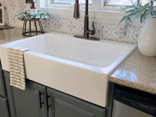 drop-in farmhouse sink