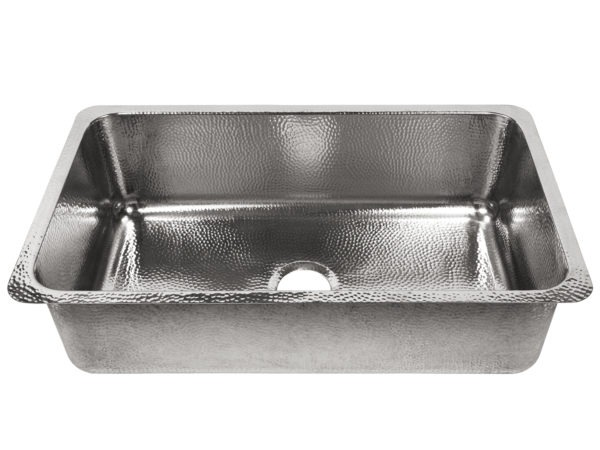 polished crafted stainless steel undermount sink