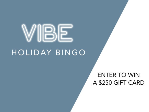 VIBE Holiday Bingo