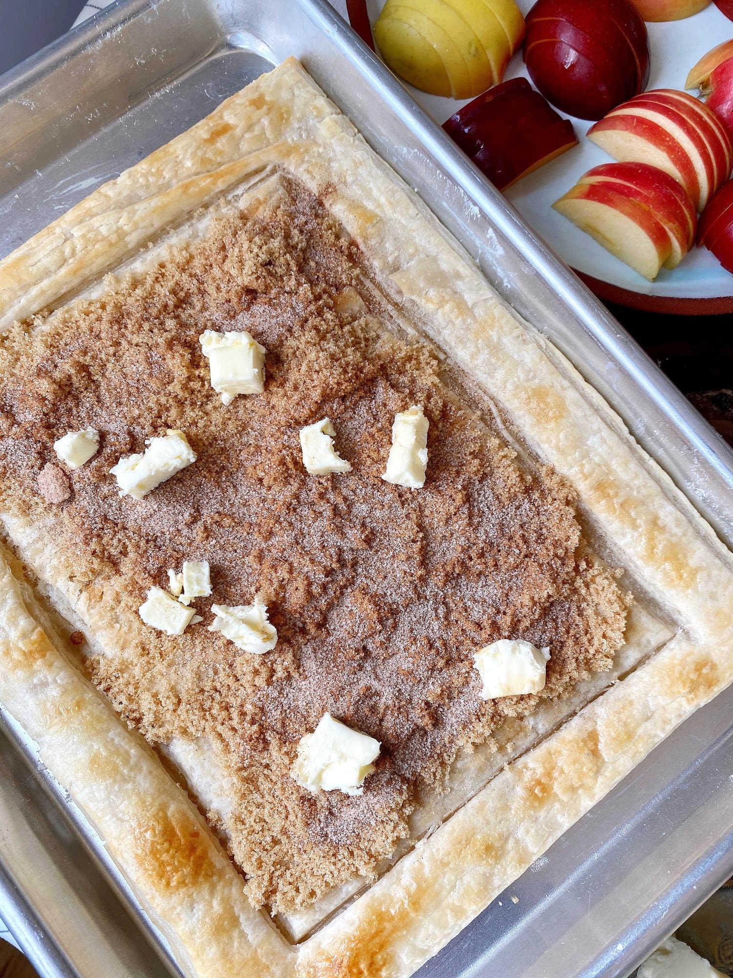 cinnamon sugar butter tart